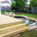 Large Wrap Around Deck