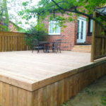 Custom Back Deck Design