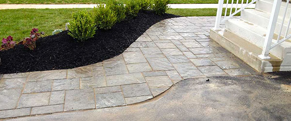 Interlock Stone Walkway