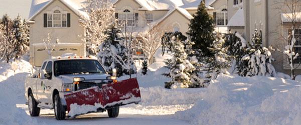 Residential Snow Plowing Kitchener