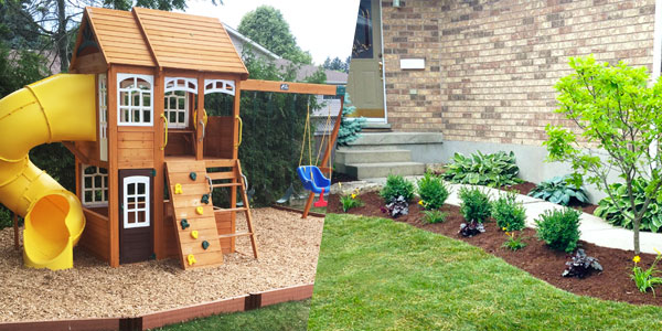 Mulch Installation Kitchener Waterloo